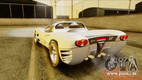 Ferrari P7 Spyder pour GTA San Andreas laissé vue