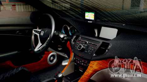 Honda Accord Yukari Itasha für GTA San Andreas rechten Ansicht