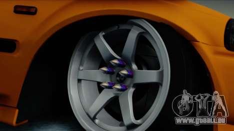 Honda Civic BC YAPIM pour GTA San Andreas sur la vue arrière gauche