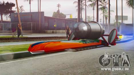Flying Hovercraft New Skin pour GTA San Andreas