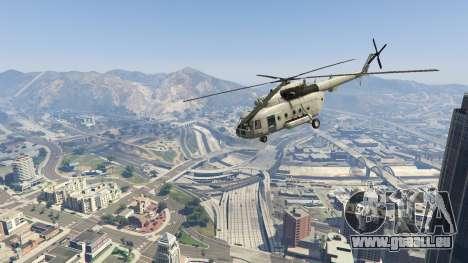 GTA 5 Mi-8 huitième capture d'écran