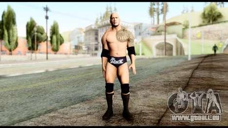 WWE The Rock pour GTA San Andreas deuxième écran