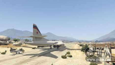 GTA 5 Tu-160 White Swan dritten Screenshot