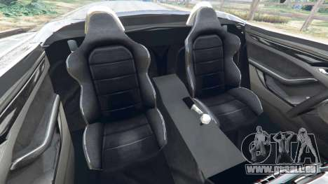GTA 5 Jaguar F-Type 2014 rechte Seitenansicht