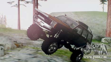 Jeep Cherokee 1984 4x4 pour GTA San Andreas