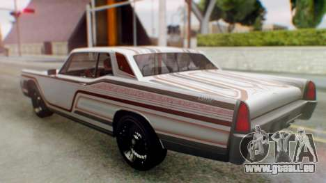 GTA 5 Vapid Chino Tunable pour GTA San Andreas roue