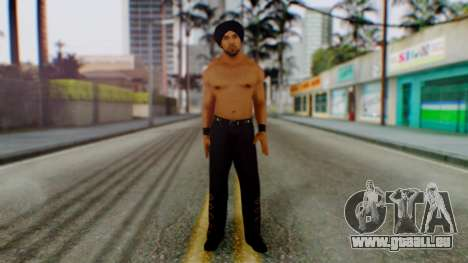 Jinder Mahal 1 für GTA San Andreas zweiten Screenshot
