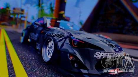 Aero Project Art 0.248 pour GTA San Andreas cinquième écran