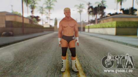 Dolph Ziggler 1 pour GTA San Andreas deuxième écran