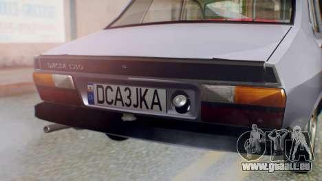 Dacia 1310 v2 pour GTA San Andreas vue arrière