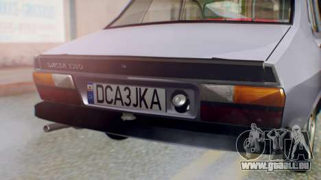 Dacia 1310 v2 für GTA San Andreas Rückansicht