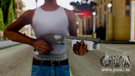 GTA 5 Sawed-Off Shotgun - Misterix 4 Weapons pour GTA San Andreas troisième écran