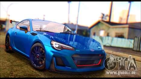 Subaru BRZ STi Concept 2016 pour GTA San Andreas