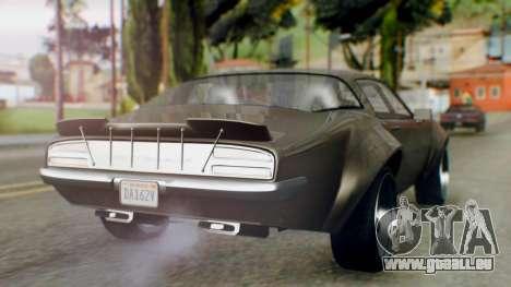 GTA 5 Imponte Nightshade IVF pour GTA San Andreas laissé vue