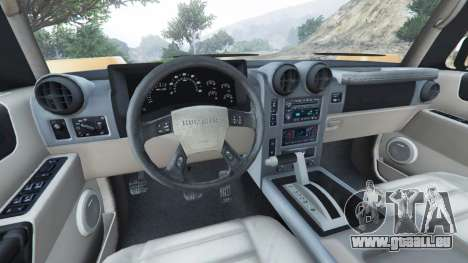 Hummer H2 2005 pour GTA 5