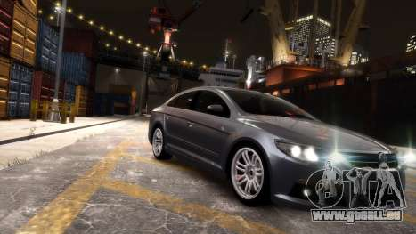 Volkswagen Passat CC für GTA 4 hinten links Ansicht