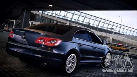 Volkswagen Passat CC pour GTA 4 est une gauche