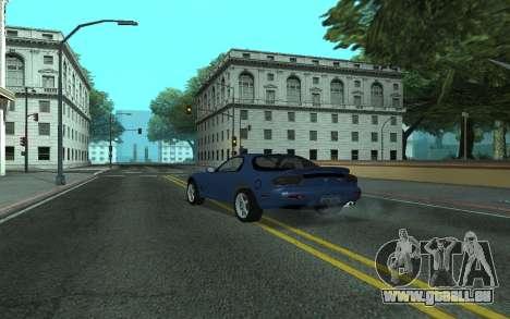 Mazda RX-7 Tunable für GTA San Andreas linke Ansicht