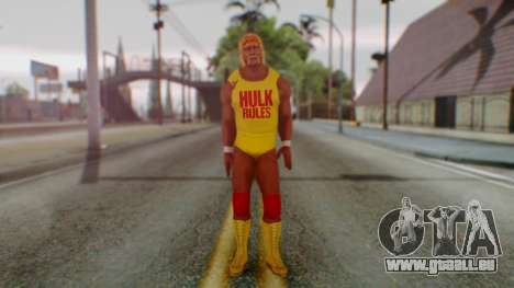WWE Hulk Hogan pour GTA San Andreas deuxième écran