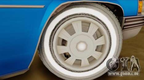 GTA 4 Albany Emperor pour GTA San Andreas sur la vue arrière gauche