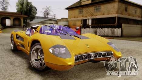 Ferrari P7 Cabrio für GTA San Andreas