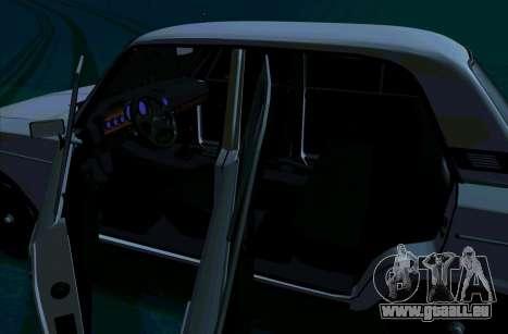 VAZ 2106 [ARM] für GTA San Andreas zurück linke Ansicht