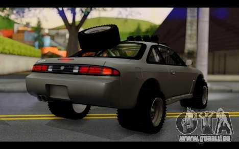 Nissan Silvia S14 Rusty Rebel pour GTA San Andreas laissé vue