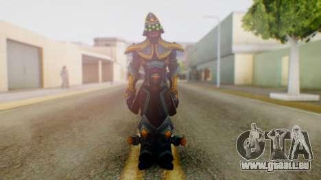 Masteryi League of Legends Skin pour GTA San Andreas deuxième écran