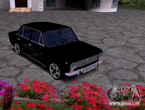 VAZ 2101 KBR pour GTA San Andreas laissé vue