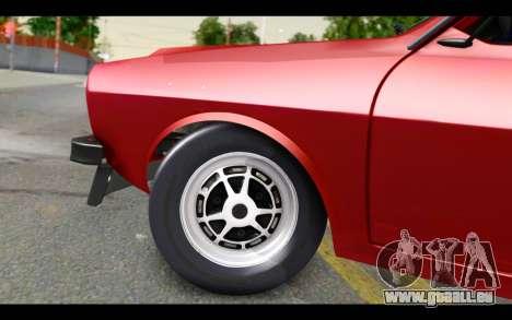 Renault 12 Toros pour GTA San Andreas vue arrière