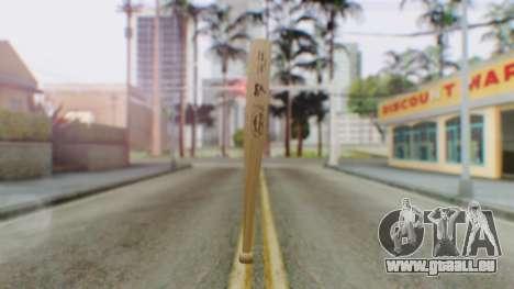 Vice City Baseball Bat für GTA San Andreas zweiten Screenshot