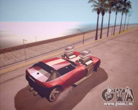 Banshee Twin Mill III Hot Wheels v1.0 pour GTA San Andreas vue de droite