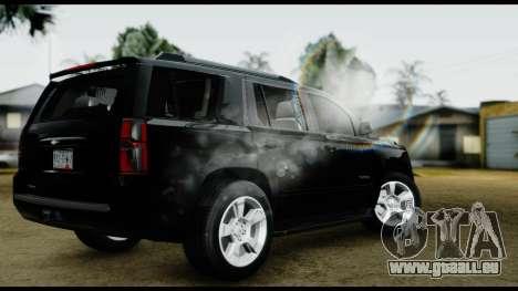 Chevrolet Tahoe 2015 für GTA San Andreas linke Ansicht