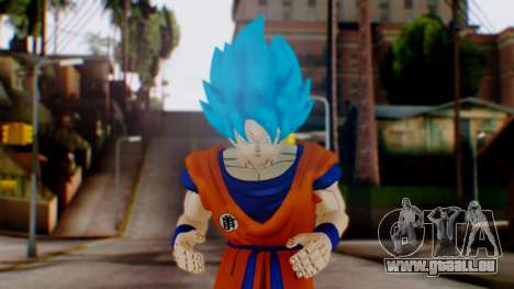 Goku SSJ God Blue (SSGSS) pour GTA San Andreas