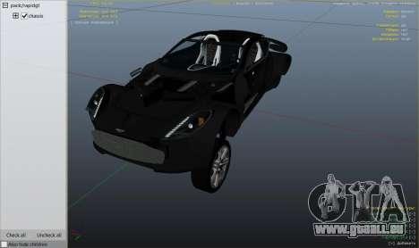 2012 Aston Martin One-77 v1.0 pour GTA 5