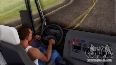 Iveco EuroTech v2.0 Cab Low pour GTA San Andreas vue arrière
