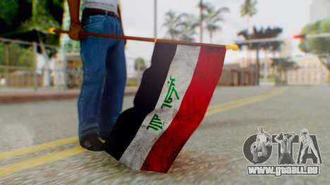Iraq Flag HD für GTA San Andreas dritten Screenshot