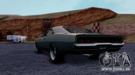 Dodge Charger RT 1970 FnF7 für GTA San Andreas linke Ansicht