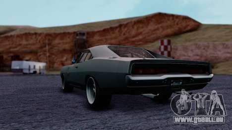 Dodge Charger RT 1970 FnF7 pour GTA San Andreas laissé vue