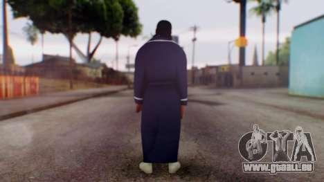 WWE Damien Sandow 1 pour GTA San Andreas troisième écran