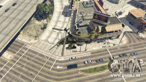 GTA 5 Ka-52 Alligator septième capture d'écran