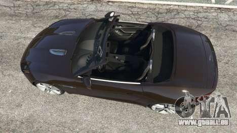 GTA 5 Jaguar F-Type 2014 Rückansicht