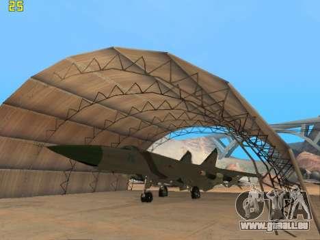 Die MiG-25 für GTA San Andreas linke Ansicht