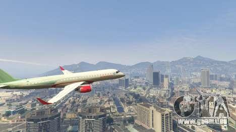 GTA 5 Embraer 195 Wind sechster Screenshot