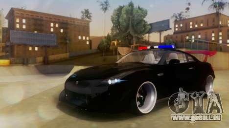 Nissan GT-R Police Rocket Bunny pour GTA San Andreas