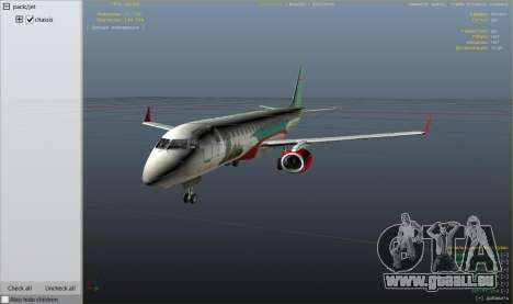 Embraer 195 Wind pour GTA 5
