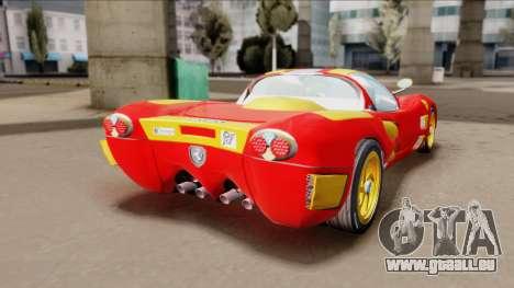 Ferrari P7-2 Iron Man für GTA San Andreas linke Ansicht