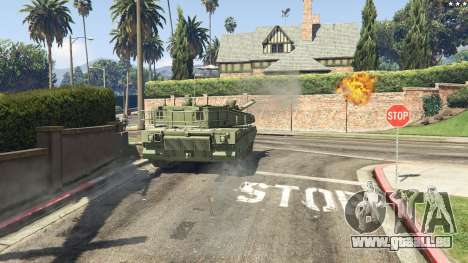 GTA 5 K2 Black Panther arrière droit vue de côté