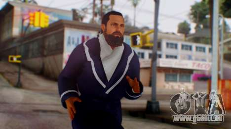 WWE Damien Sandow 1 pour GTA San Andreas