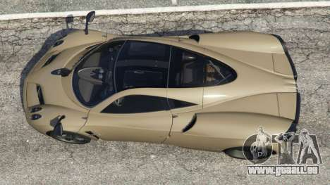 Pagani Huayra 2013 v1.1 [black rims] für GTA 5